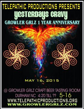 TELEPATHIC PRODUCTIONS -GROWLER GRLZ 1 Year Anniversary